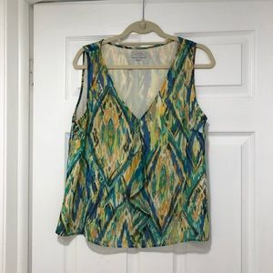 Tahari tank top for women without sleeves